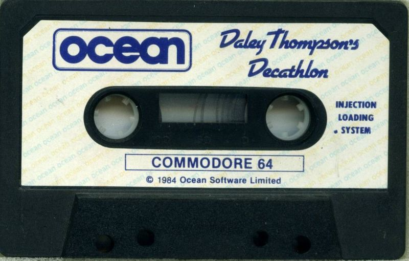 Daley Thompson's Decathlon Commodore 64 Media
