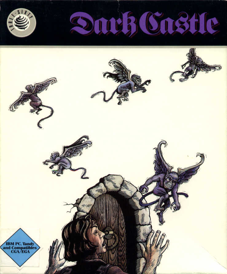 Dark Castle DOS Front Cover