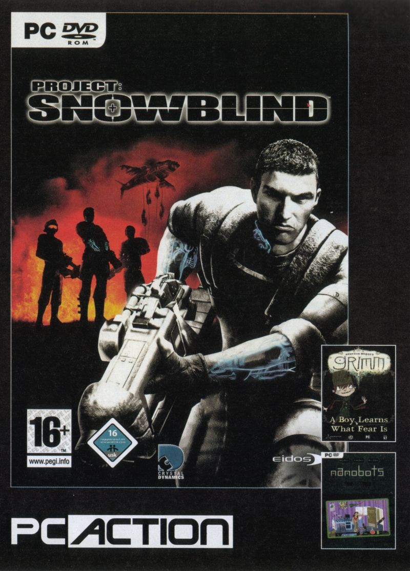 Project: Snowblind Windows Front Cover