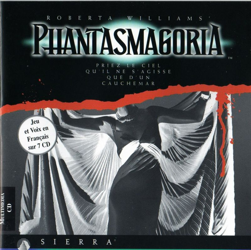 Roberta Williams' Phantasmagoria DOS Other Jewel Case - Front