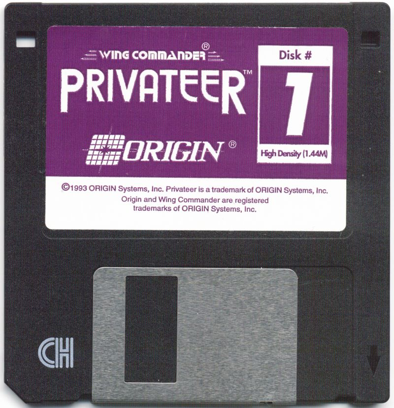 Wing Commander: Privateer DOS Media Disk 1/6