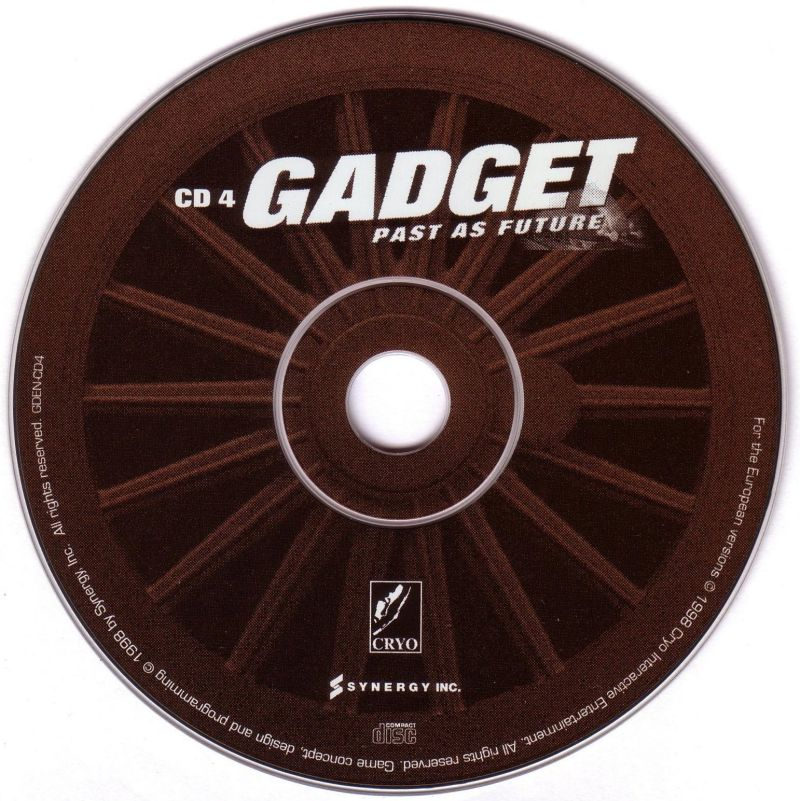 Gadget: Invention, Travel & Adventure DOS Media Disc 4