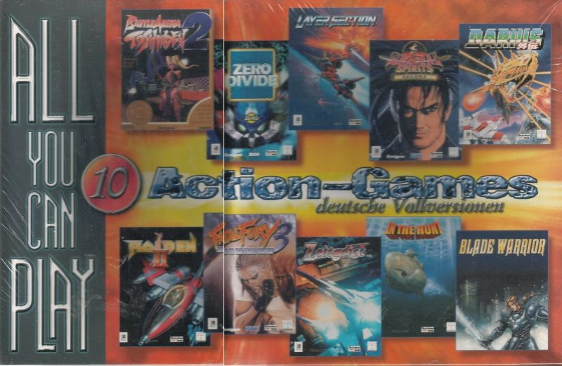 All You Can Play: 10 Action-Games DOS Front Cover