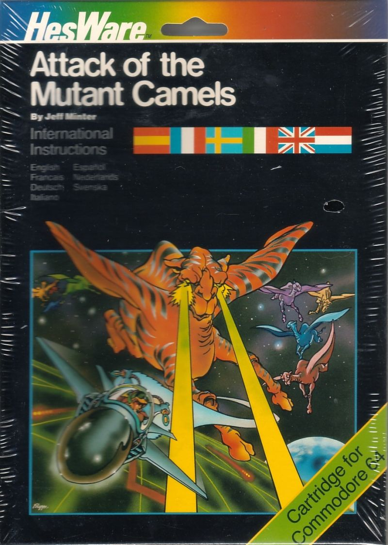 Advance of the Megacamel Commodore 64 Front Cover