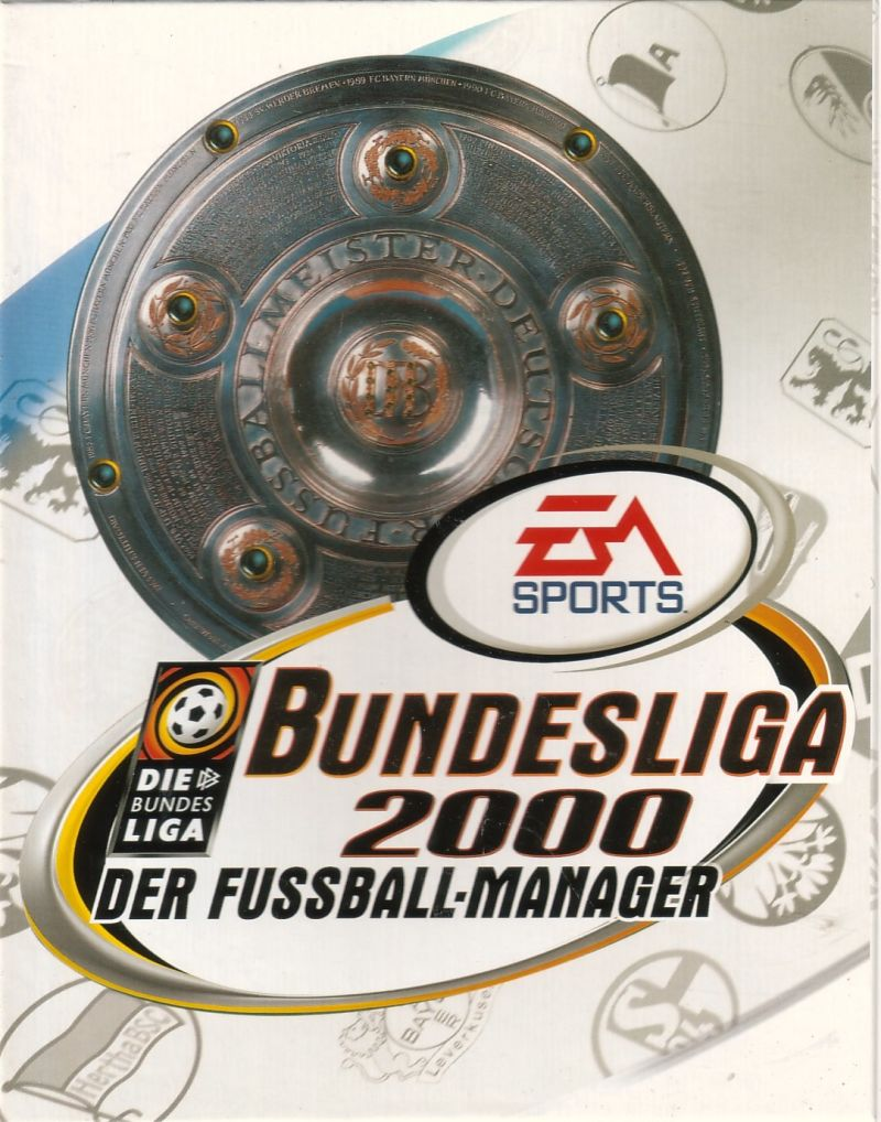 FA Premier League Football Manager 2000 Windows Front Cover