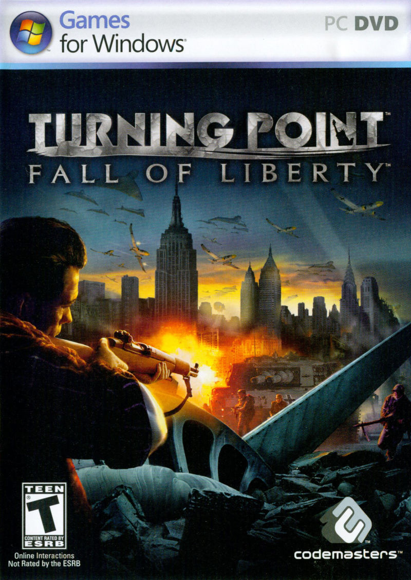 Turning Point: Fall of Liberty Windows Front Cover