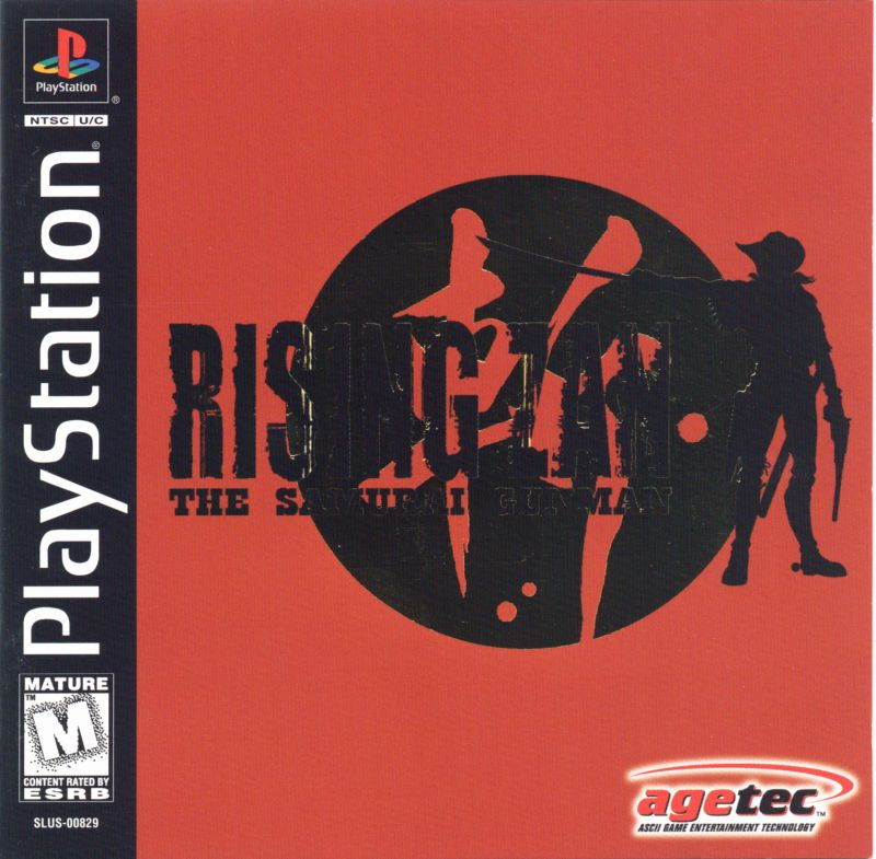 Rising Zan: The Samurai Gunman PlayStation Front Cover