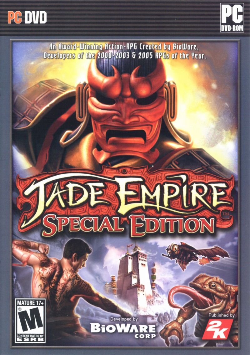 Jade Empire: Special Edition Windows Other Keep Case - Front