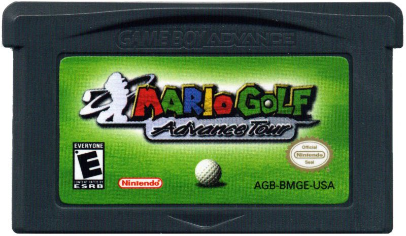 Mario Golf: Advance Tour Game Boy Advance Media