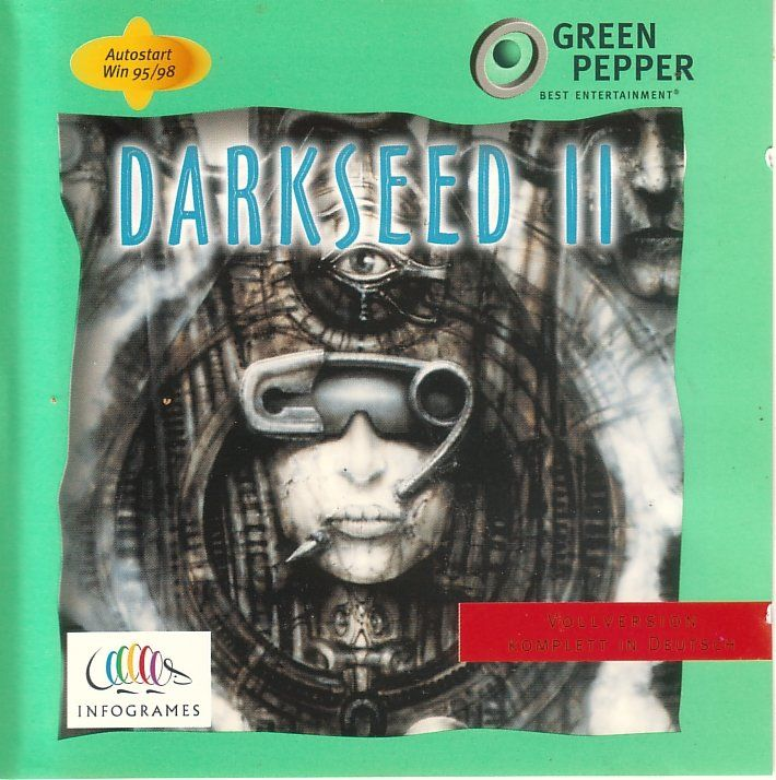 Dark Seed II Windows 3.x Front Cover