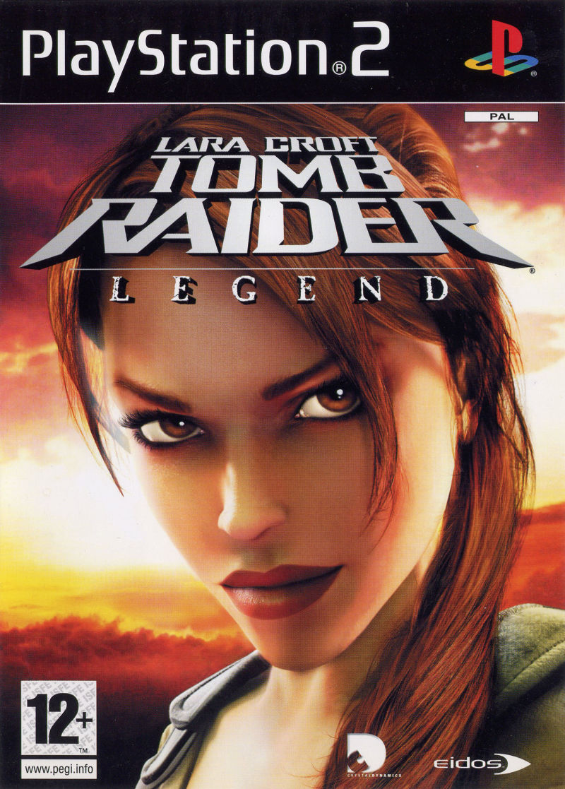 Lara Croft Tomb Raider: Legend PlayStation 2 Front Cover