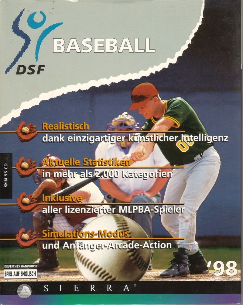 Front Page Sports: Baseball Pro '98 Windows Front Cover