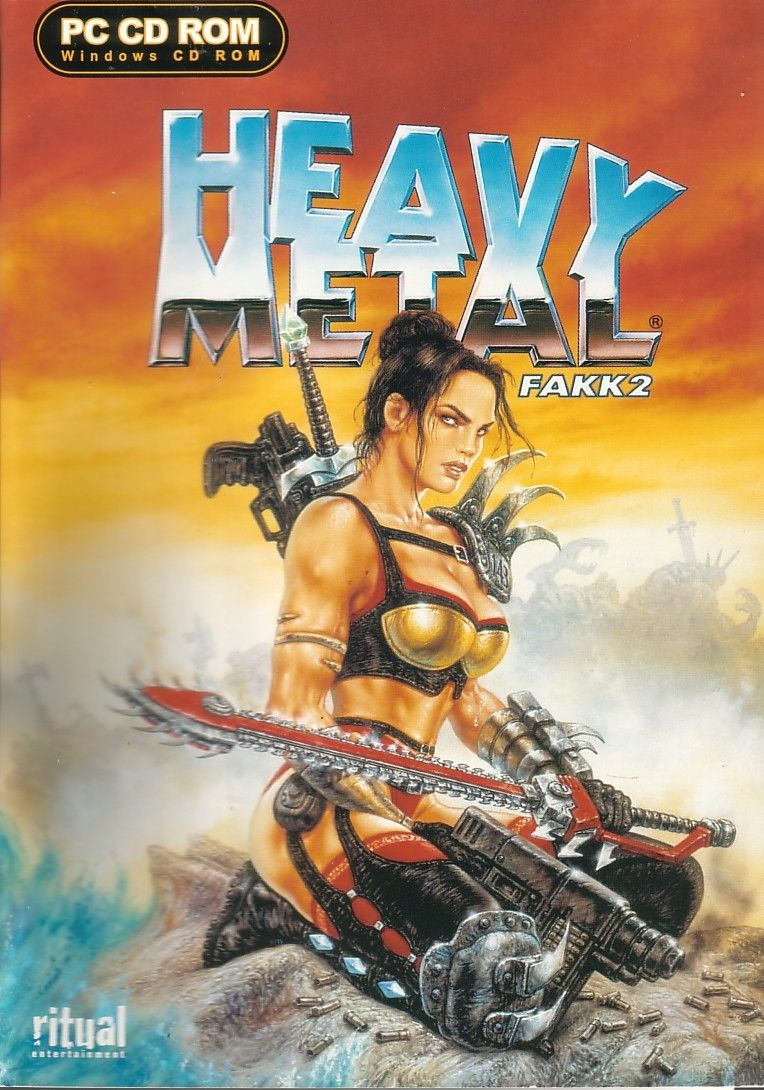 Heavy Metal: F.A.K.K. 2 Windows Front Cover