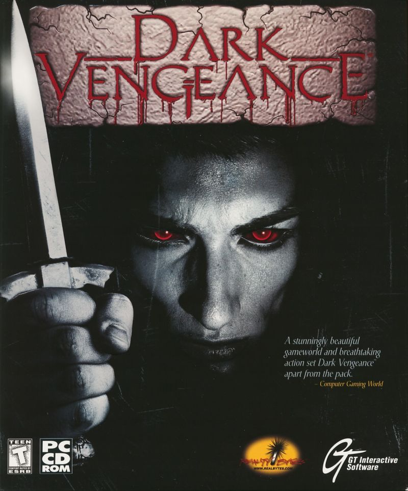Dark Vengeance Windows Front Cover