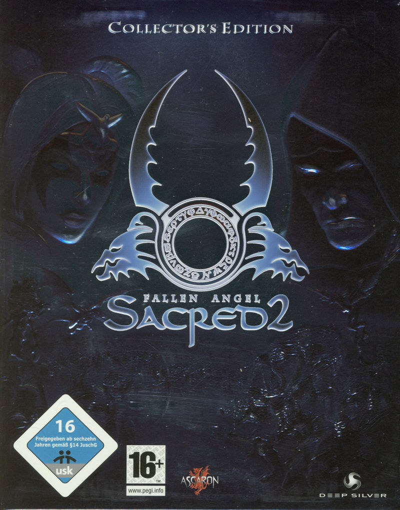 Sacred 2: Fallen Angel (Collector's Edition) Windows Front Cover