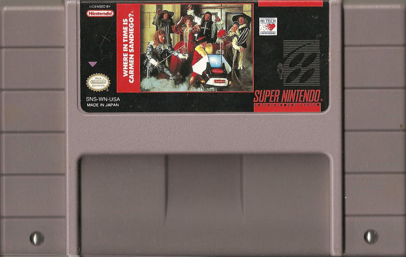 Where in Time Is Carmen Sandiego? SNES Media