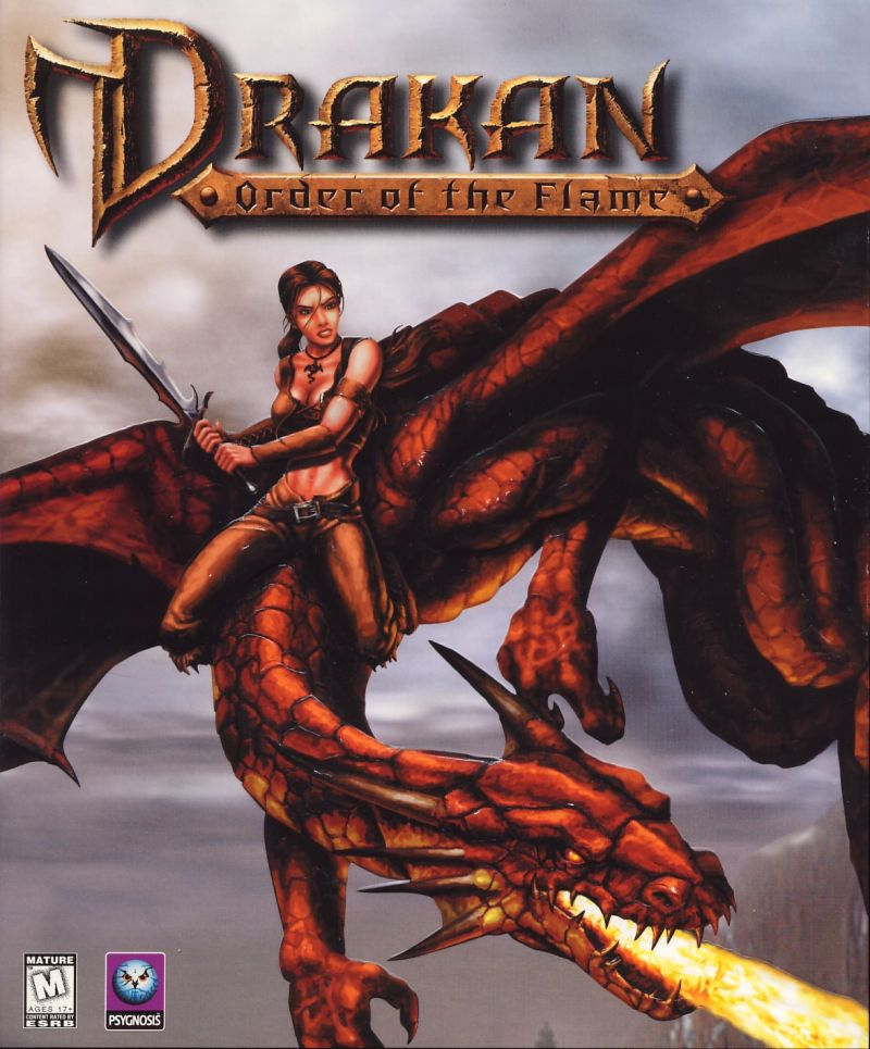 Drakan: Order of the Flame Windows Front Cover