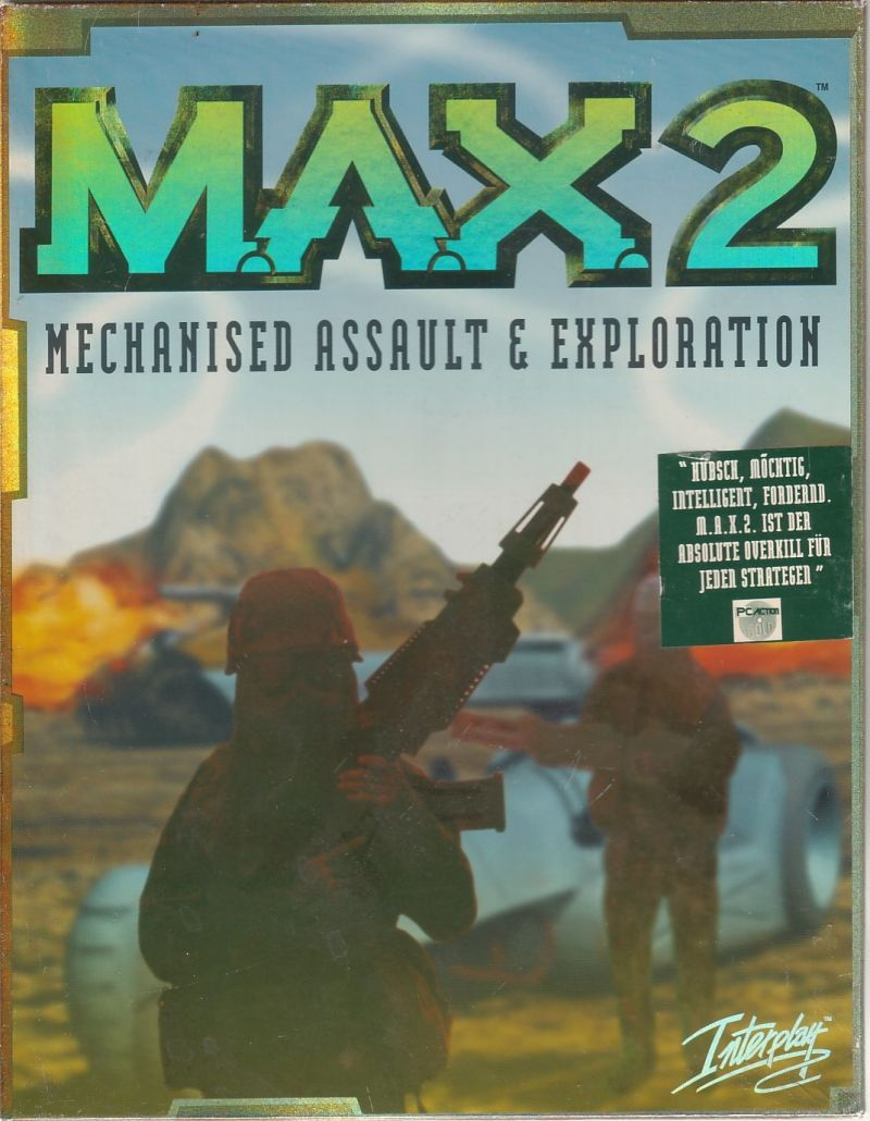 M.A.X. 2: Mechanized Assault & Exploration Windows Front Cover