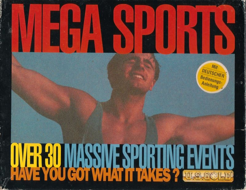 Mega Sports Commodore 64 Front Cover
