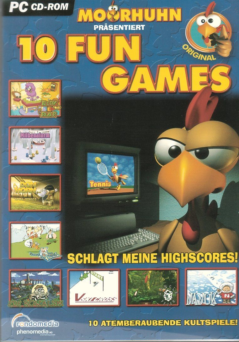 Moorhuhn: 10 Fun-Games