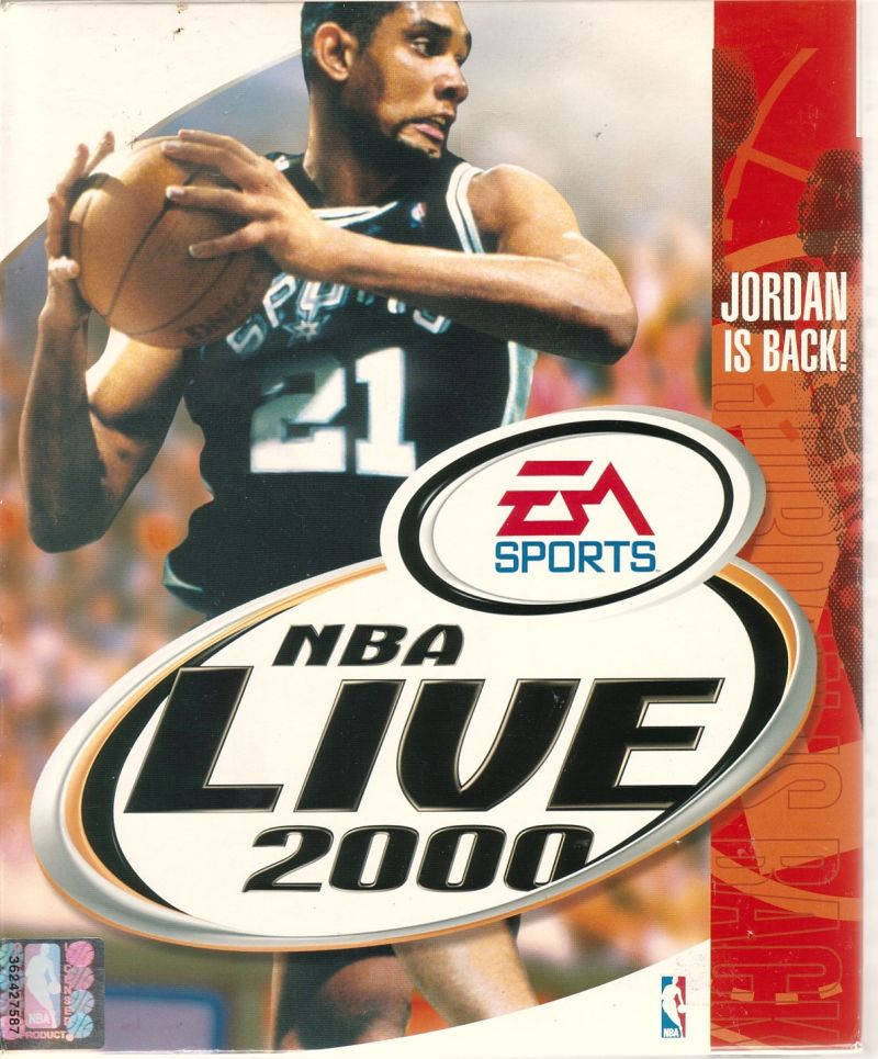 NBA Live 2000 Windows Front Cover