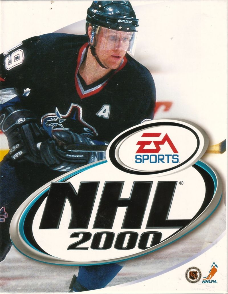 NHL 2000 Windows Front Cover