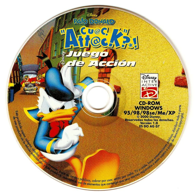 Disney's Donald Duck: Goin' Quackers Windows Media