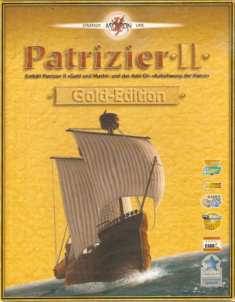 Patrizier II (Gold Edition) Windows Front Cover