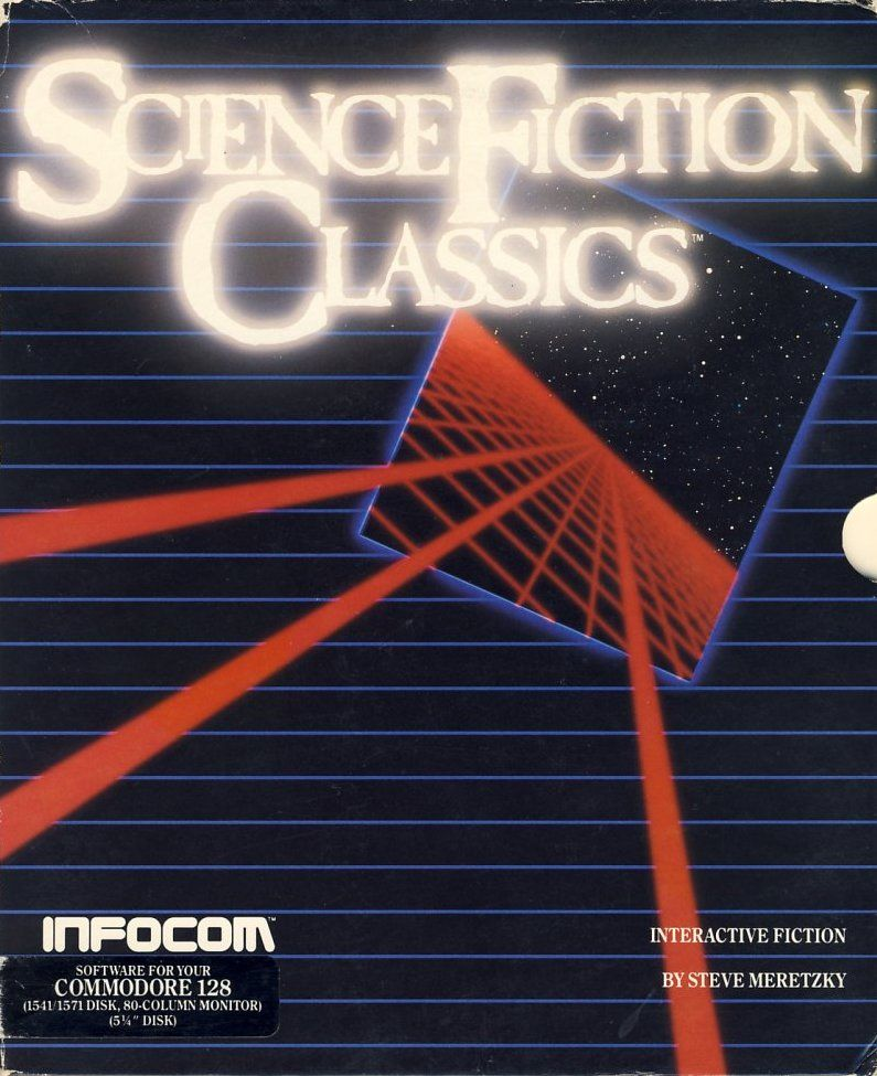 Science Fiction Classics Commodore 128 Front Cover