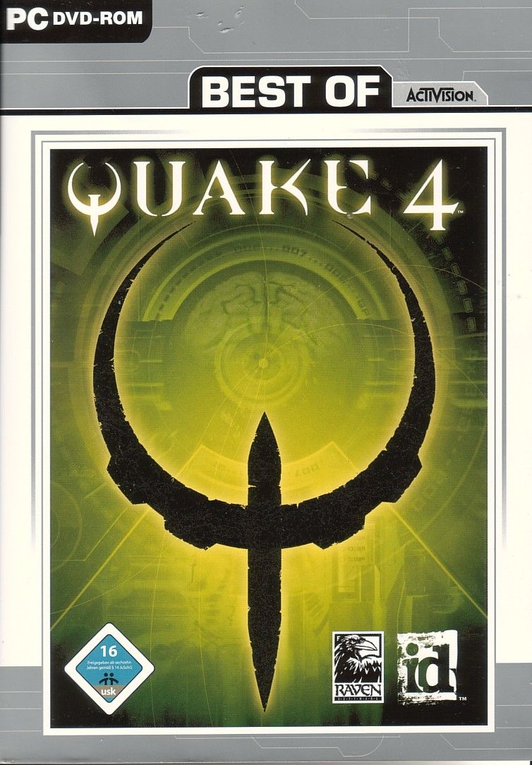 Quake 4 Windows Front Cover
