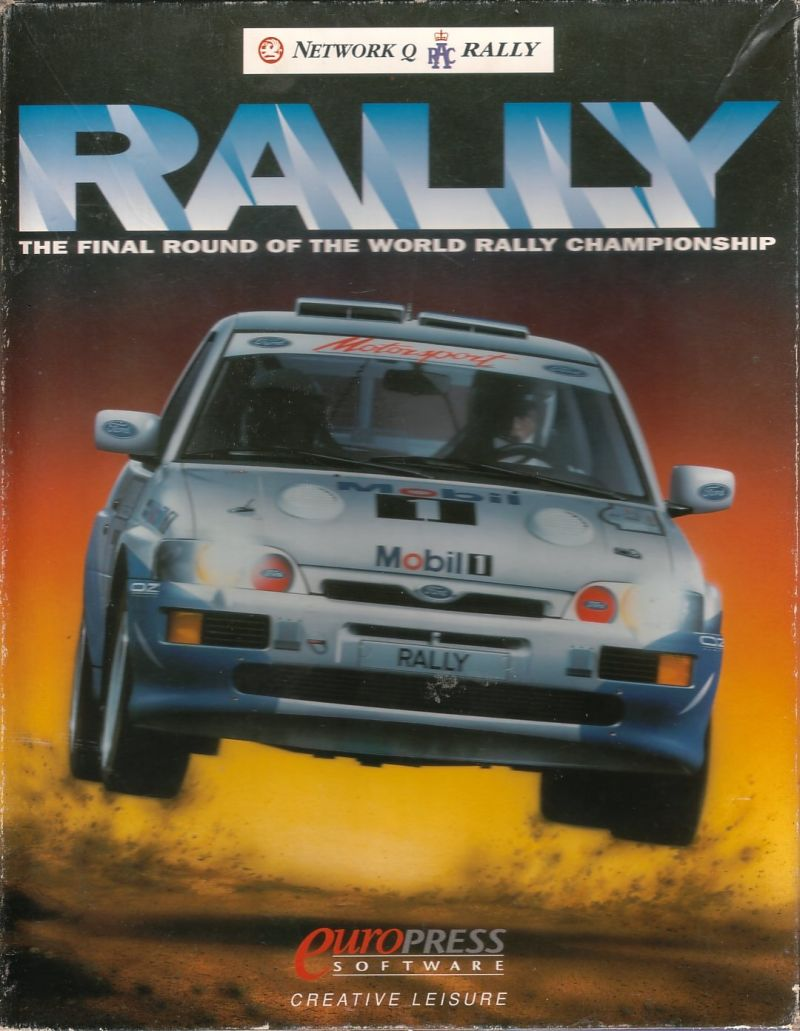 Network Q RAC Rally DOS Front Cover