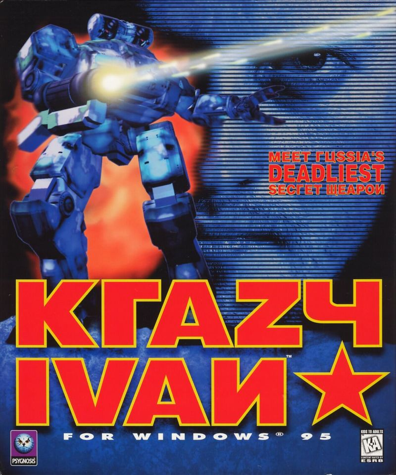 Krazy Ivan Windows Front Cover