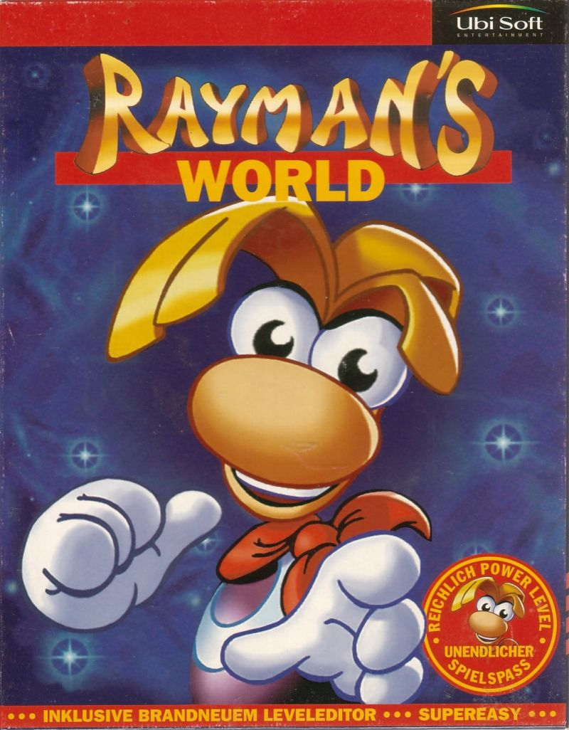 Rayman Designer Windows Front Cover