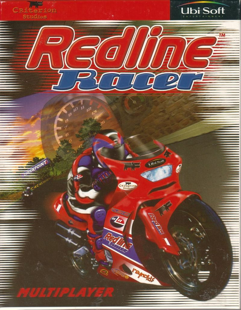 Redline Racer Windows Front Cover