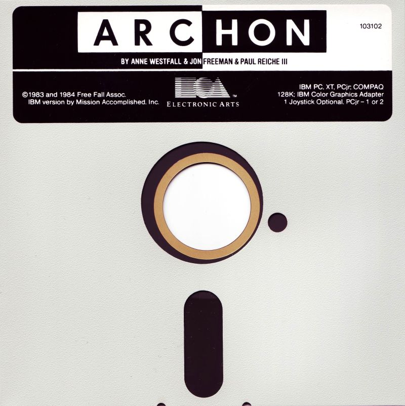 Archon: The Light and the Dark PC Booter Media