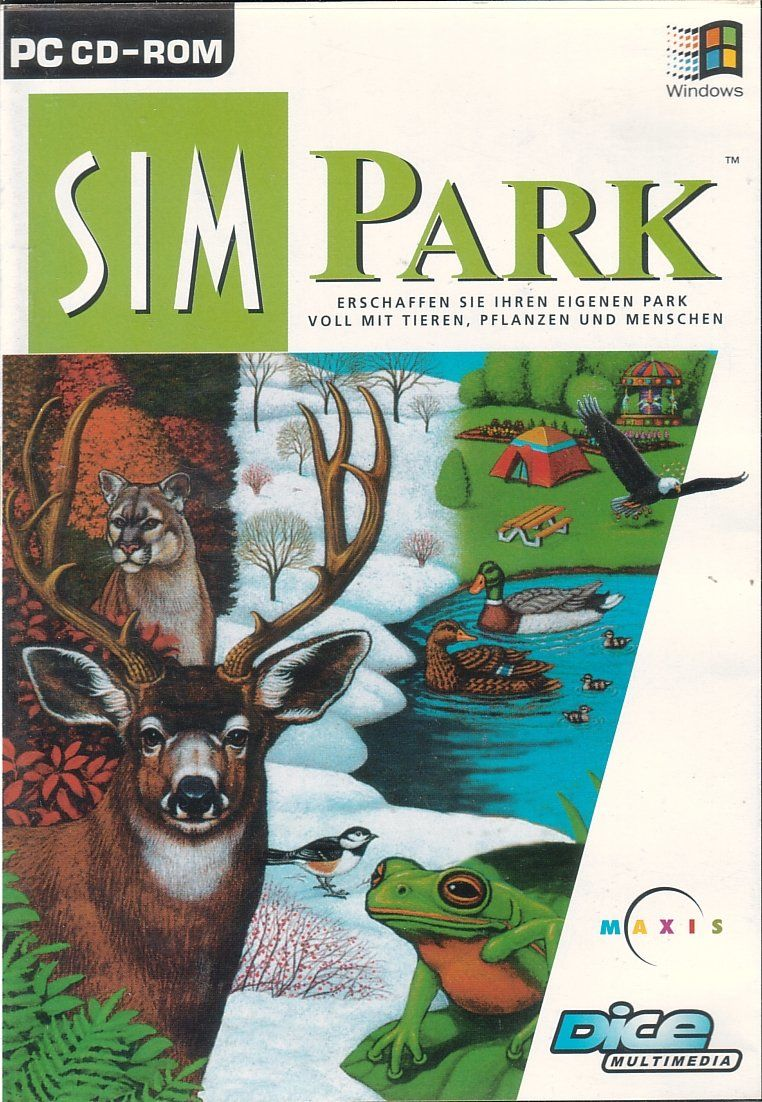 SimPark Windows Front Cover