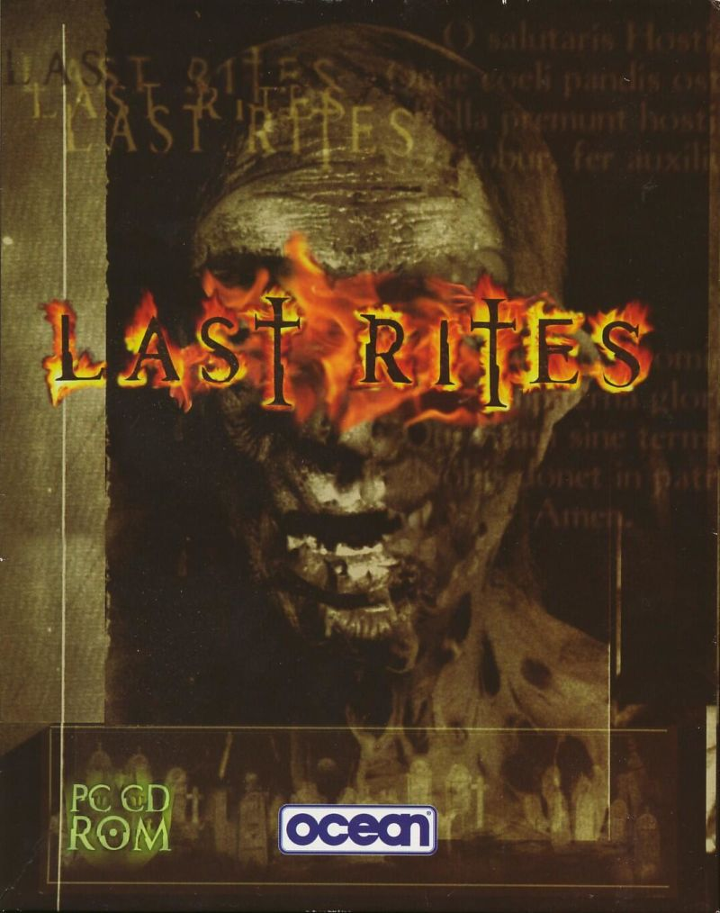 Last Rites DOS Front Cover