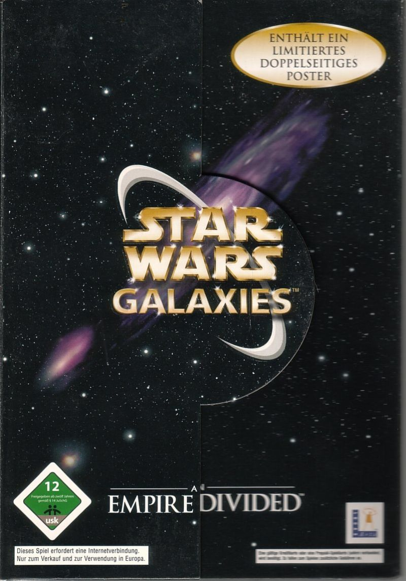 Star Wars: Galaxies - An Empire Divided Windows Front Cover