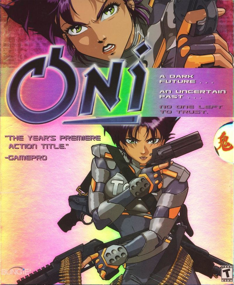 Oni Windows Front Cover