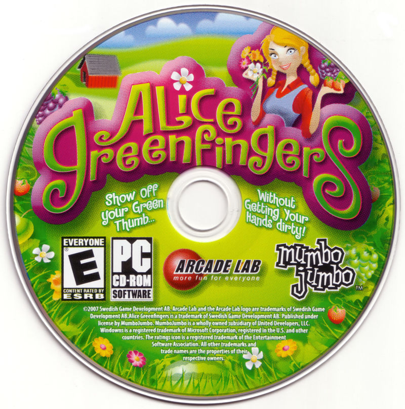 Alice Greenfingers Windows Media