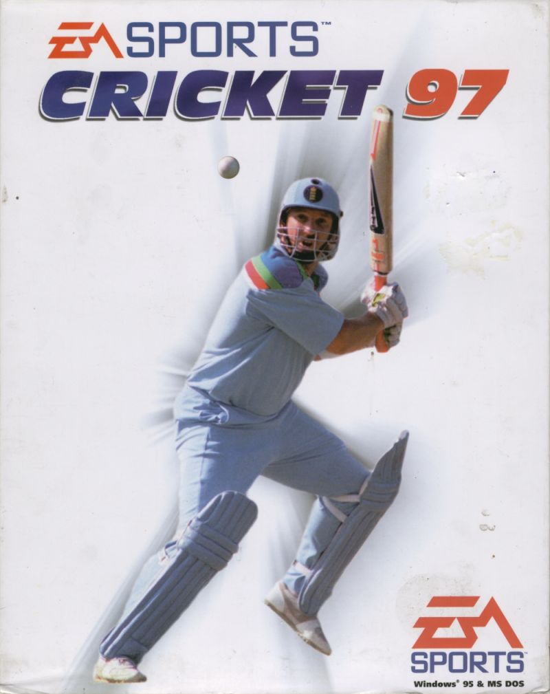 Cricket 97 DOS Front Cover