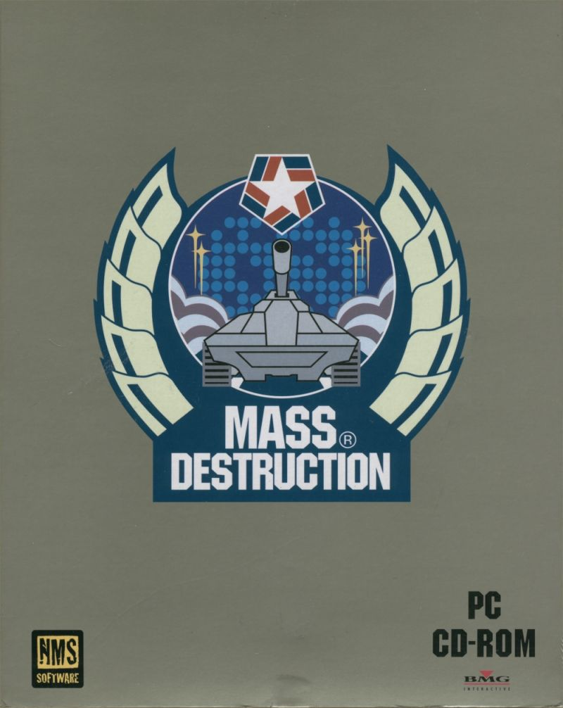 Mass Destruction DOS Front Cover