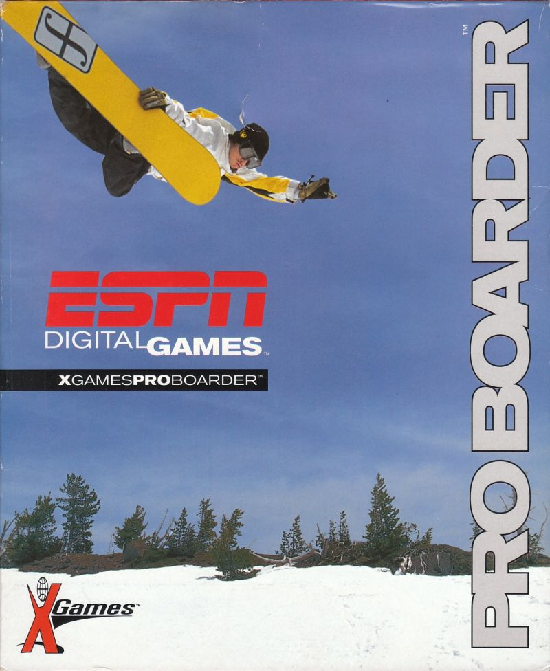 X-Games: Pro Boarder Windows Front Cover