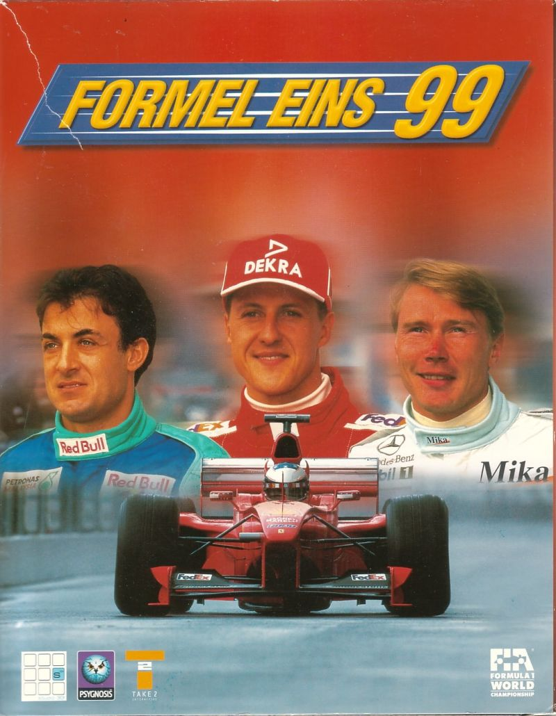 Formula One 99 Windows Front Cover