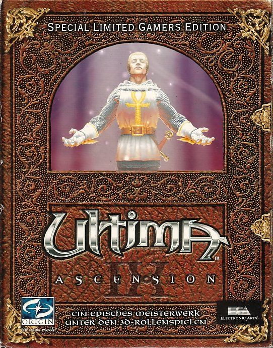 Ultima World Edition Windows Front Cover