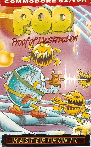 P.O.D.: Proof of Destruction Commodore 64 Front Cover