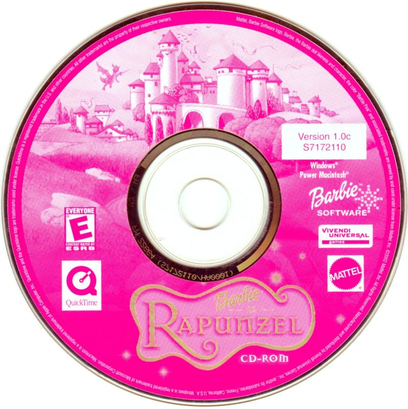 Barbie as Rapunzel: A Creative Adventure Macintosh Media