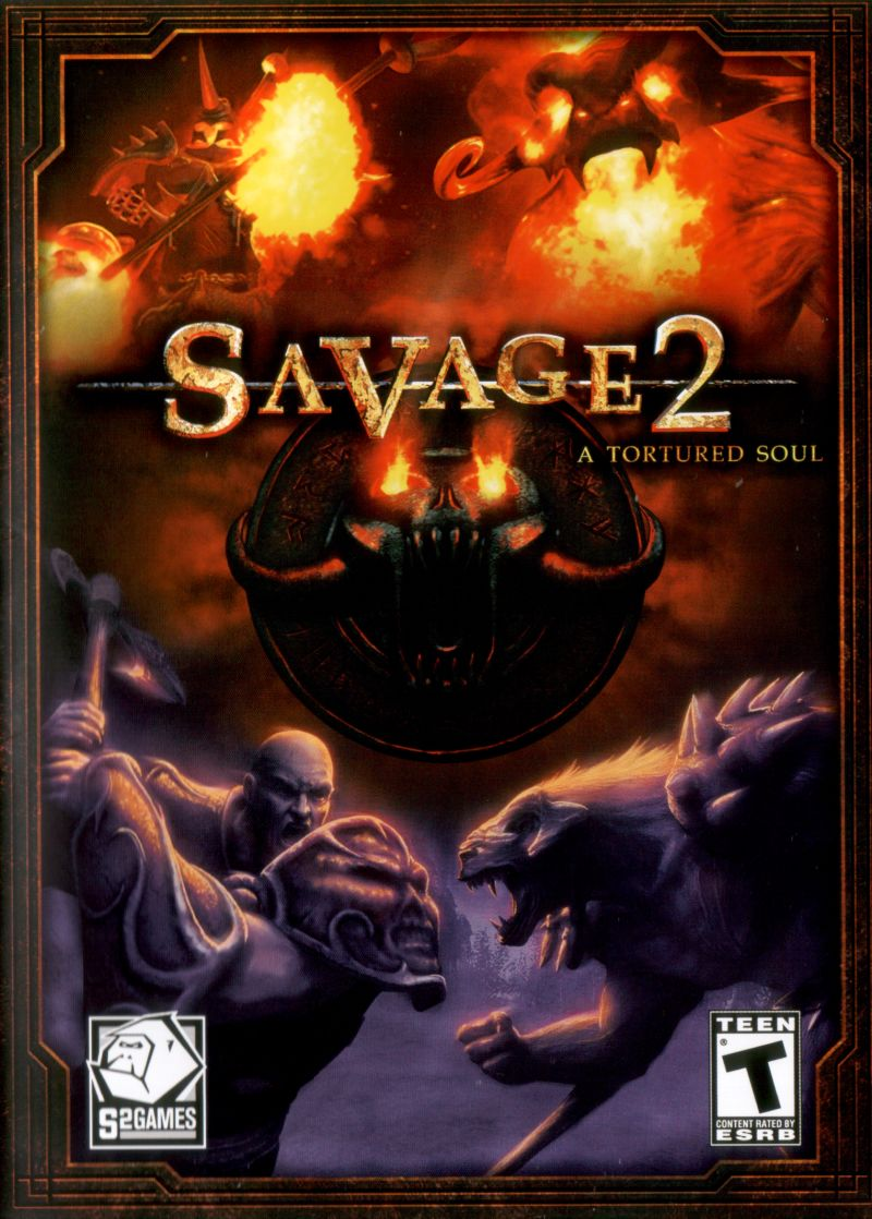 Savage 2: A Tortured Soul Windows Front Cover