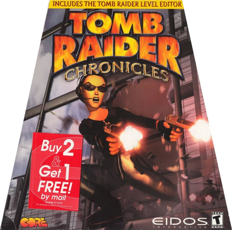 Tomb Raider Chronicles Cover