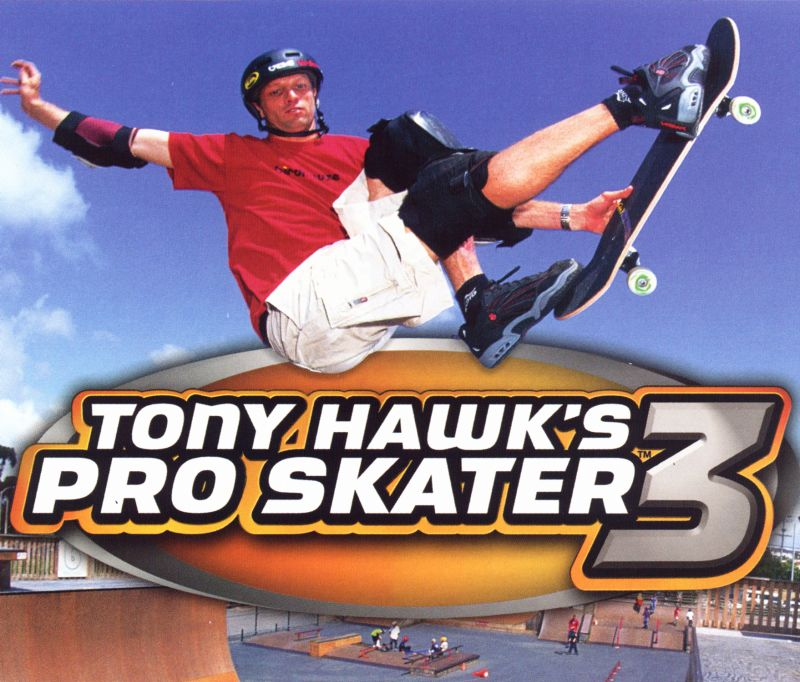 Tony Hawk's Pro Skater 3 Windows Other Jewel Case Insert